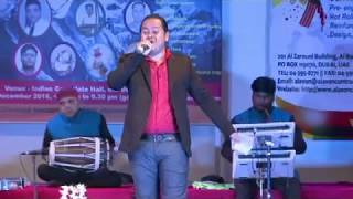 Ramesh Gopalbabu Goswami At Uttarakhand Musical Nite 2016 in Indian Consulate-Dubai
