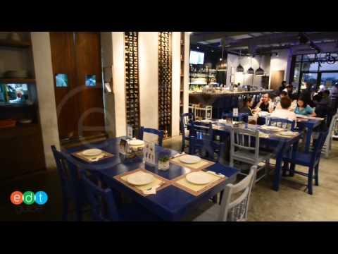 บรรยากาศภายในของCapri Italian Restaurant สาขา Asiatique The Riverfront