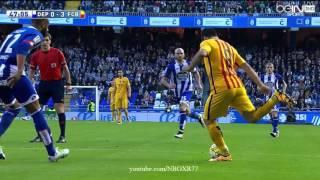 اهداف مباراة برشلونة وديبورتيفو لاكرونيا 8-0 شاشة كاملة تعليق سوار الذهب HD