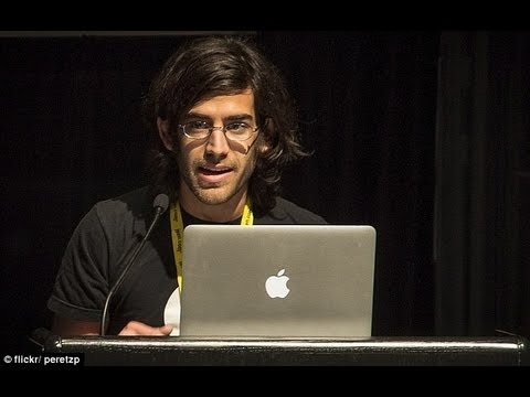 Aaron Swartz Awesome Speech Internet Freedom