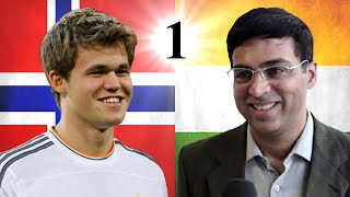 Viswanathan Anand vs Magnus Carlsen | 2014 World Chess Championship | Game 1