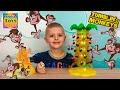 Настольная Игра Обезьянки Акробаты Обезьяны падают с дерева Tumblin Monkeys Game Unboxing mp3