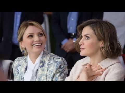 Anormal comportamiento de la reina Letizia en Zacatecas (México)