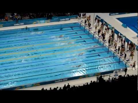 2012 Summer Olympics Mens Final 4x200 Freestyle Relay