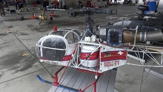 SA-315B Lama HB-ZMV Heli TV Scale RC Model Helicopter