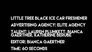 Little Tree Black Ice Car Freshener Commercial