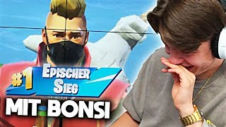 🔥 EPISCHER SIEG mit BONSI | FORTNITE | Papaplatte