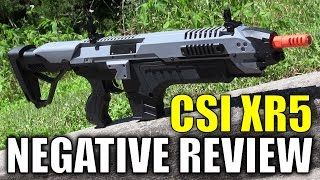 Airsoft Review of The CSI STAR XR5 - A Negative Airsoft Review