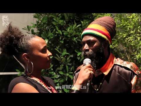 Videointerview with Capleton @ Uprising Reggae Festival 2013, 23.08.2013