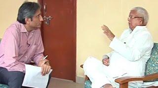 Prime Time: Lalu Yadav on why Nitish should be the Bihar face of Janata Pariwar