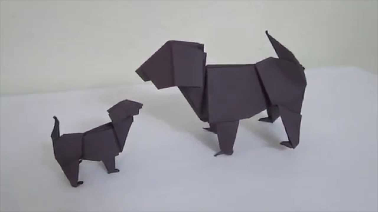 Introduction origami dog youtube for How to introduce a dog to a new dog