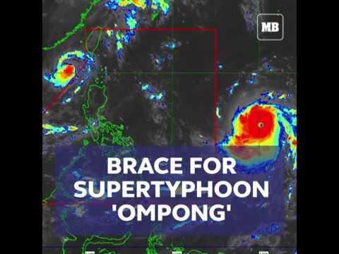 Brace for supertyphoon 'Ompong'