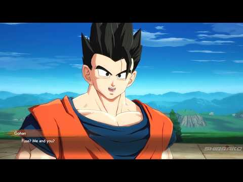 Dragon Ball FighterZ - Goku & Gohan Want To Fuse Together