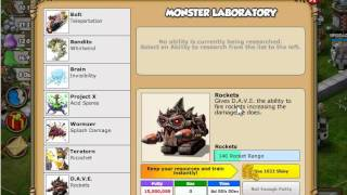Backyard Monsters The monster laboratory - new building