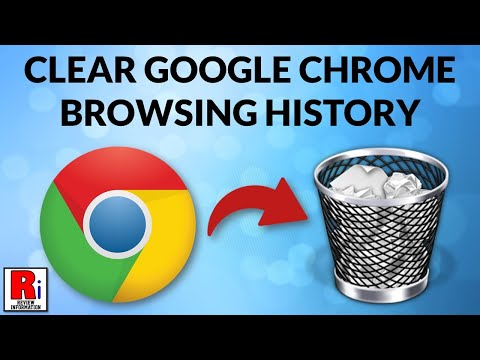 CLEAR GOOGLE CHROME BROWSING HISTORY IN COMPUTER