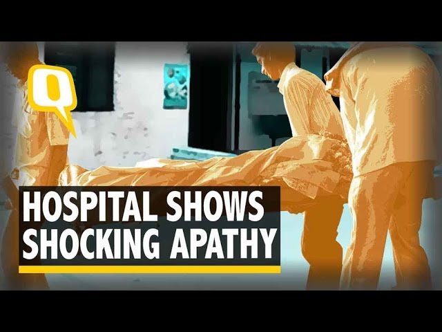 The Quint| Bihar: Man Carries Wife's Body on Shoulder As Hospital Denies Van
