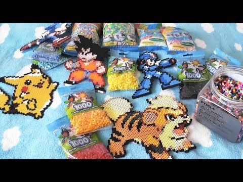 Perler vs Hama vs Pyssla Beads (and Nabbi)