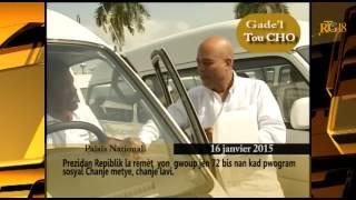 VIDEO: Haiti - President Martelly delivre 72 Autobus bay yon group Jenn Gason ki te nan Lari a