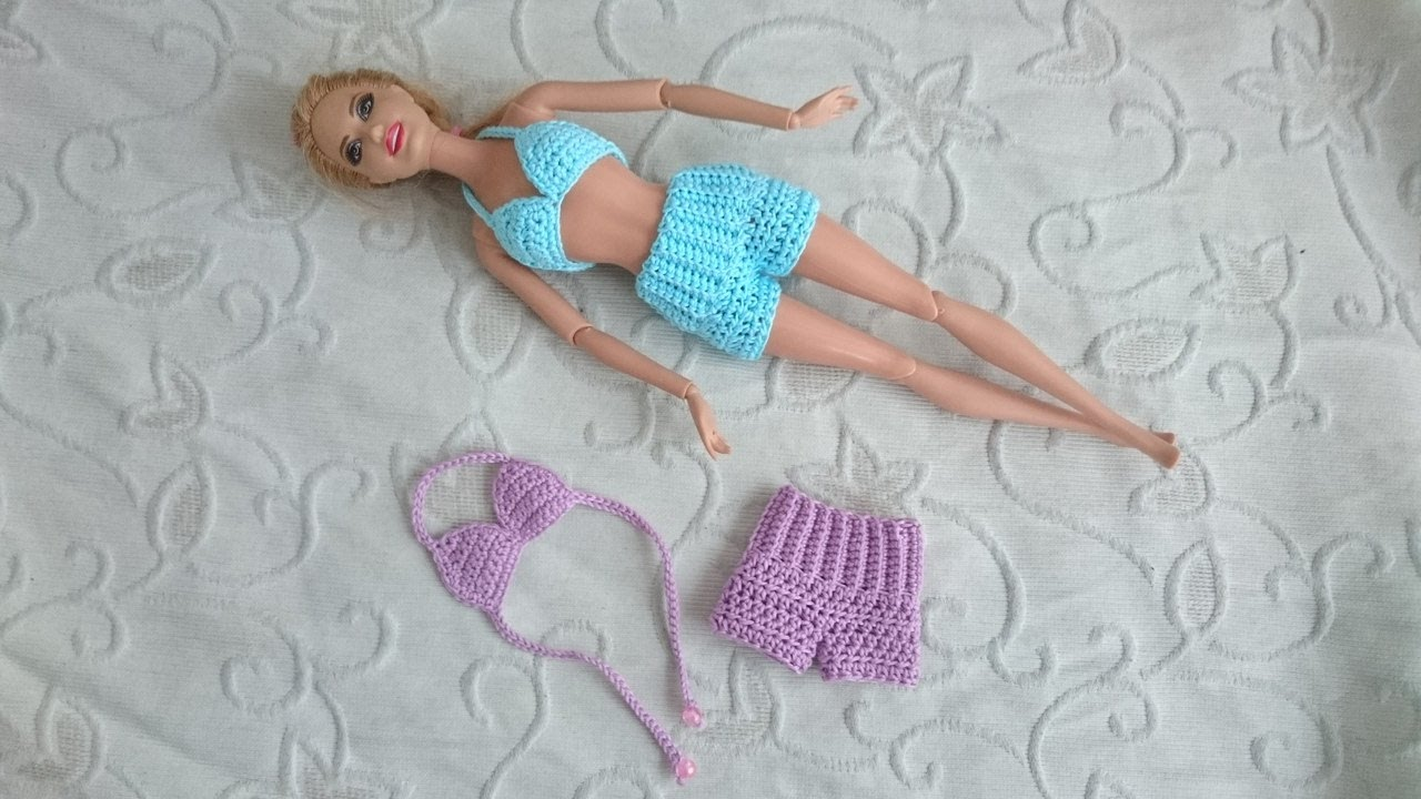 Вязание спицами для начинающих на кукол барби
