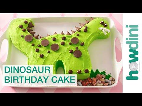 Dinosaur birthday cake decorating ideas - Dinoszaurusz születésnapi torta készítése