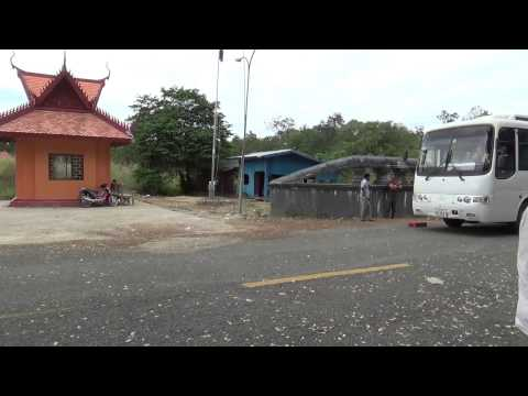Tourist from Laos Border to Cambodia until Angkor Wat Temple
