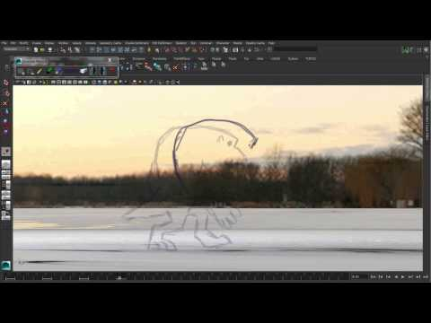 Maya 2014 New Features: Grease Pencil