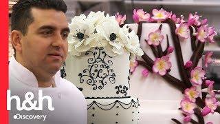 3 bolos de flores da Carlo's Bakery | Cake Boss | Discovery H&H Brasil