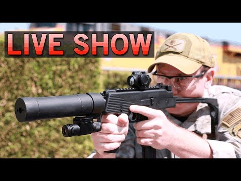 LIVE SHOW - New Guns, and so much more - Join us! | Airsoft GI