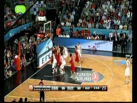 Ολυμπιακός - Τσσκα Μόσχας 62-61 Τα highlights
