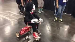 Billy the Puppet from the movie Saw Comicpalooza