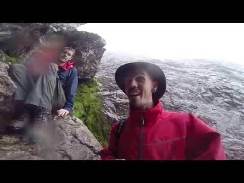 Descending Curvy Ridge (Hillwalking with brother in law, and first GoPro tests)