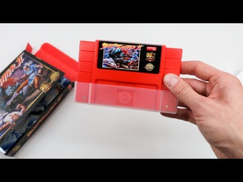 Unboxing the Street Fighter II (Legacy Cartridge Collection)