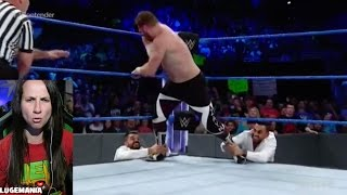 WWE Smackdown 4/18/17 #1 Contender WWE Championship