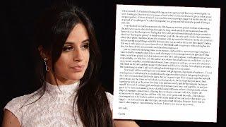 Camila Cabello RESPONDS To Fifth Harmony