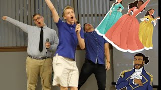 "3 Dudes Sing ""Schuyler Sisters"" from Hamilton! 