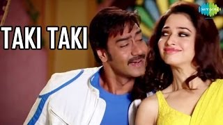 Himmatwala - Taki Taki Official Song Video | HIMMATWALA | Ajay Devgn | Tamannaah
