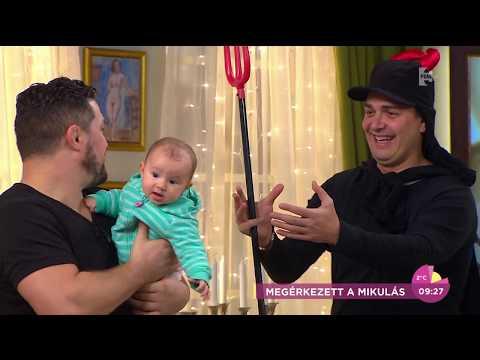Tündéri: Bárdosi Sándor és Young G gyermekei így fogadták a Mikulást - tv2.hu/fem3cafe
