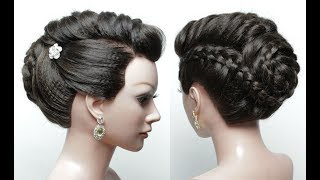 Beautiful Hairstyles for Wedding or Function. Bridal Updo