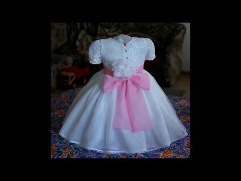 Платье для девочки. Как научиться шить с нуля