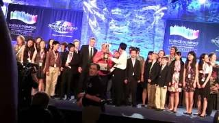 2016 National middle school Science Olympiad Champion - Daniel Wright JHS, IL