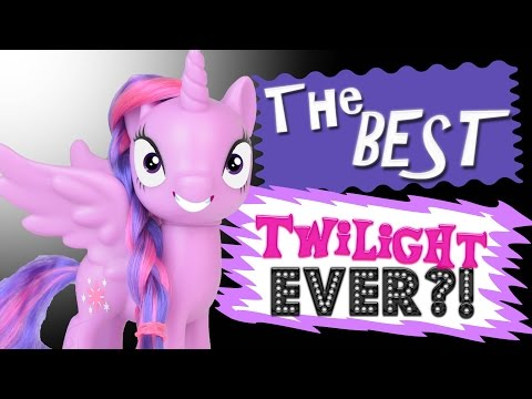 THE BEST TWILIGHT EVER?! My Little Pony Princess Twilight Sparkle 2017 Reboot Toy Review  MLP Fever