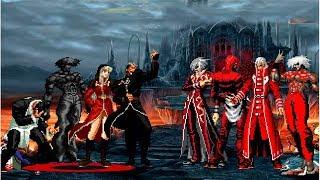KOF Mugen Infernal Team VS Súper Blood Team