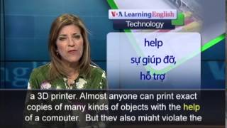 Anh ngữ đặc biệt: 3-D Printing