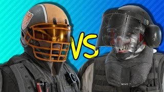 QUARTERBACK CASTLE vs BAM BAM BLITZ | Rainbow Six Siege