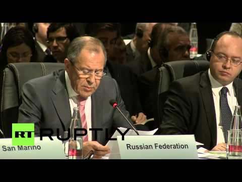 Switzerland: 'Minsk agreements must be respected for Ukraine's future' - Lavrov