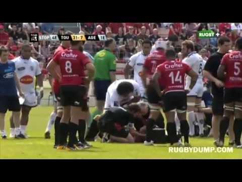 Opeti Fonua smashes Jonny Wilkinson and a few others