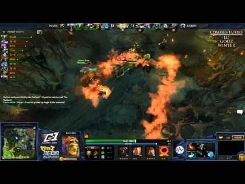 Liquid vs Fnatic - Game 2 (G-1 League - NA/EU Qualifier) [WOW EPIC]