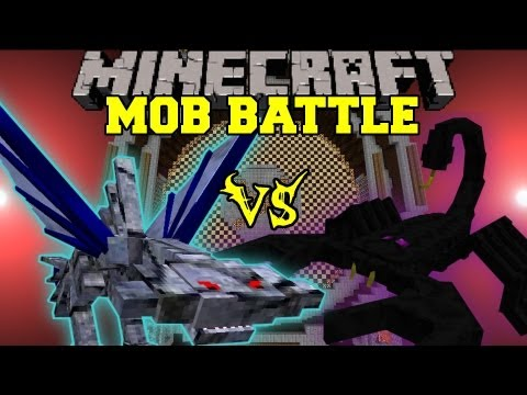 EMPEROR SCORPION VS. CEPHADROME - Minecraft Mob Battles - Arena Battle - Ultimate Bosses Mod Battle
