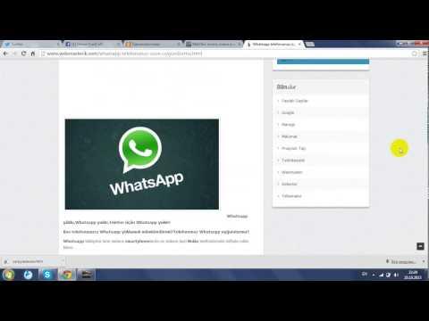 Komputer Ucun Whatsapp Yuklemeyin Qaydasi!