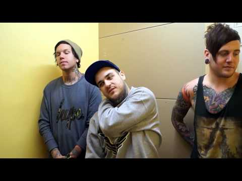 Emmure | Chelsea Grin | Attila Interview Dublin. Ireland. April 2013 video
